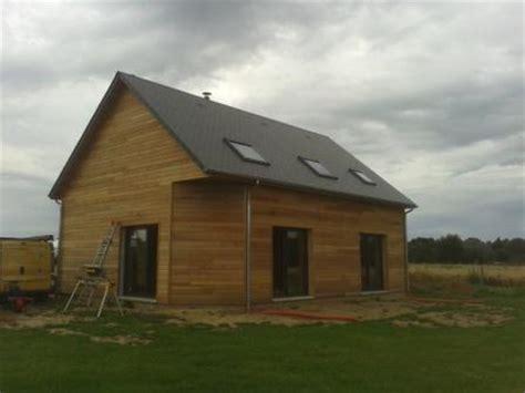 construction d une maison ossature bois en normandie