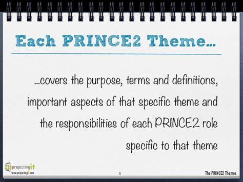 The Prince2 Themes