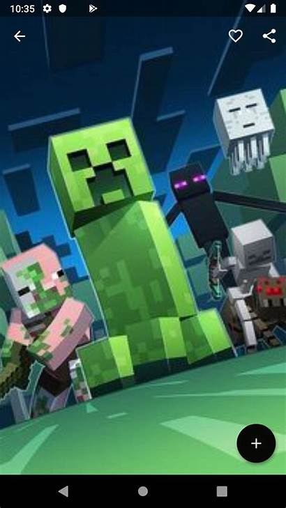 Minecraft Wallpapers Android Screen Pc Crafter Iphone