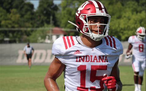 indiana football  position preview wide receivers