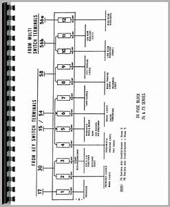 Deutz  Allis  Dx160 Tractor Wiring Diagram Service Manual