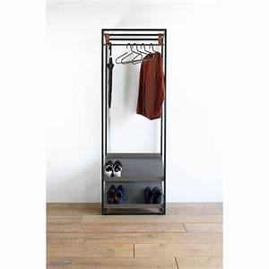 Porte Manteau De Porte : porte manteau avec rangement chaussures casto drawer ~ Teatrodelosmanantiales.com Idées de Décoration