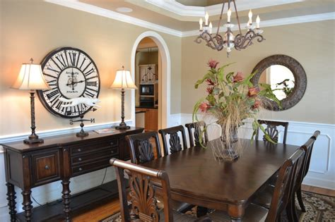 large clock  dining room   home pinterest
