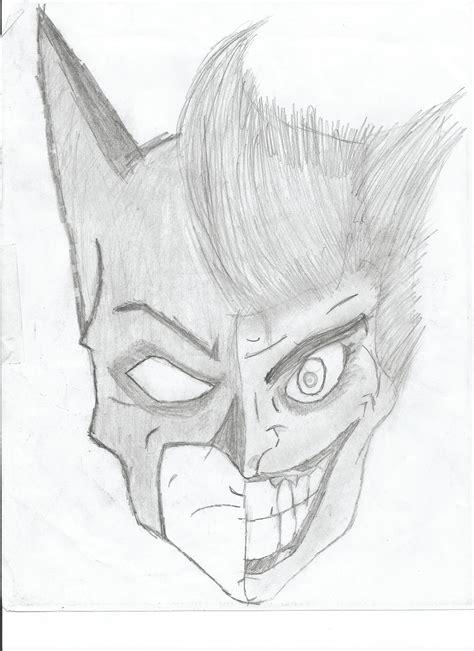 batman joker portrait sketch alex quitmeyer foundmyself