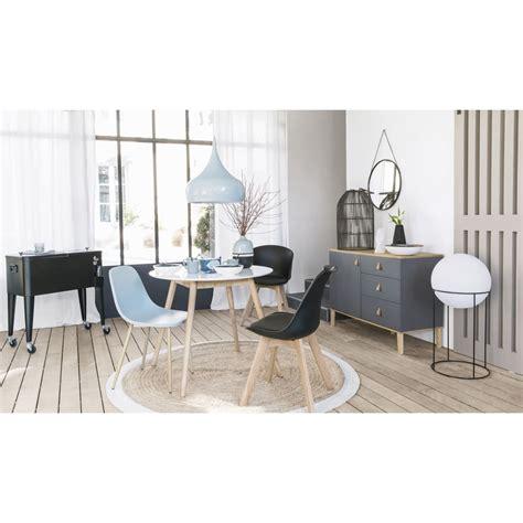 esstisch 4 stühle runder esstisch 4 personen d90 wei 223 maisons du monde