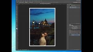 Créer Un Cadre Photo : 04 comment cr er un cadre sur vos photos avec phototshop youtube ~ Melissatoandfro.com Idées de Décoration