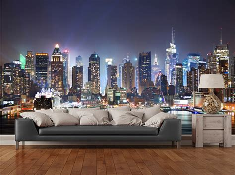 New York City Bedroom Requirements Aliexpress Buy Custom Photo Wallpaper New York