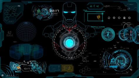 arc reactor live wallpaper for windows 7 iron jarvis wallpapers picture gt minionswallpaper