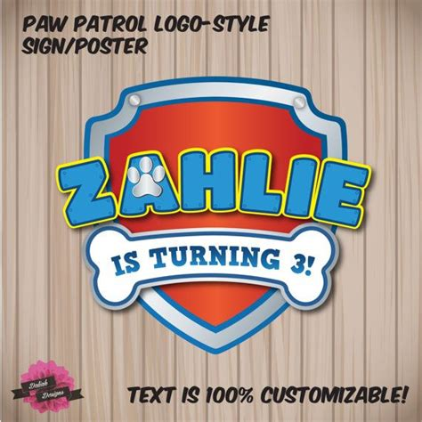 Personalised Paw Patrol Logo Style Signposterbannercake. Marry Signs Of Stroke. Royal Crest Banners. Java Logo. Died Signs. Large Format Graphics. Kingdom Lettering. Tissue Plasminogen Activator Signs Of Stroke. Towel Signs