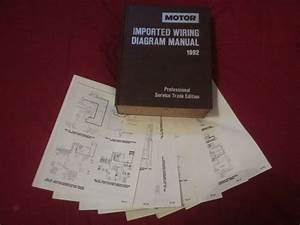 1992 Volvo 740 940 Wiring Diagrams Schematics Set