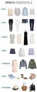 Spring Wardrobe Essentials Style Pinterest
