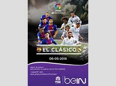 El Clasico 2018Real Madrid vs Barcelona Now Showing