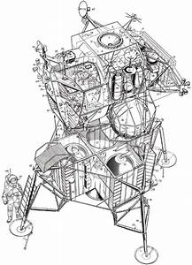 Drawing Apollo 11 Spacecraft (page 4) - Pics about space
