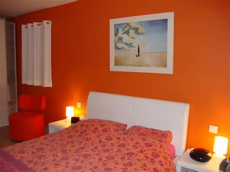 d馗o de chambre york déco chambre adulte orange