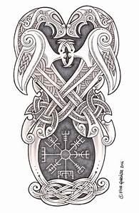 Symbole Mythologie Nordique : hugin munin vegv sir tattoos wikinger tattoos wikinger tattoo et keltische tattoos ~ Melissatoandfro.com Idées de Décoration