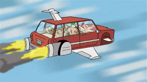 future flying cars the flynn fletcher car phineas and ferb wiki fandom