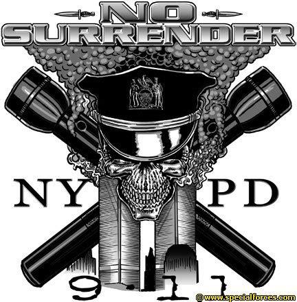 NYPD Shirts No Surrender