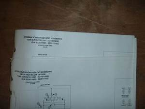 Bobcat T300 Skid Steer Hydraulic Schematic Diagram Manual