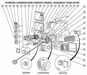 Atwood Furnace Model Afsd20121 Parts