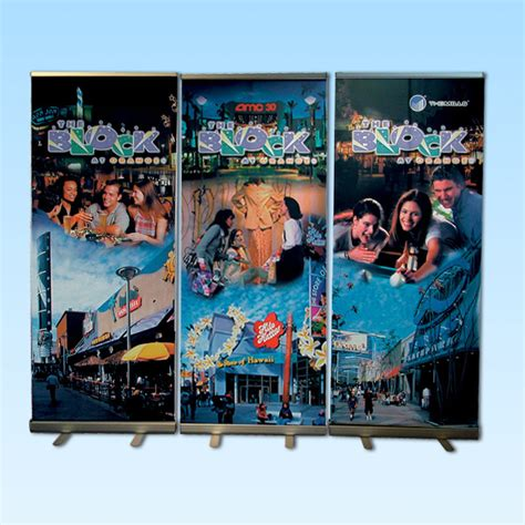 econo roll  banner stand pack sycolor