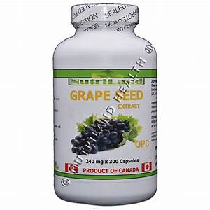 Grape Seed Extract  300 Capsules