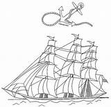 Boats Coloring Atlas Ships Adult sketch template