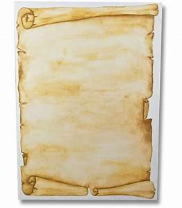 Fancy paper scroll 10 sheets for Pirate scroll template
