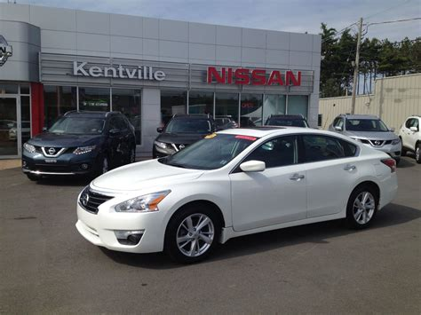 used nissan altima 2014 used 2014 nissan altima 2 5 sv in kentville used