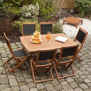 Salon De Jardin Pliant : salon jardin pliant table salon de jardin pliante maison ~ Teatrodelosmanantiales.com Idées de Décoration