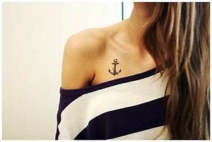 Anker Tattoo Handgelenk : 140 best anchor tattoos to stay grounded ~ Frokenaadalensverden.com Haus und Dekorationen