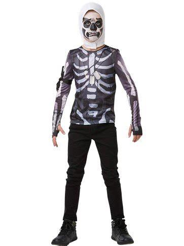 fortnite skull trooper kit child teen costume party