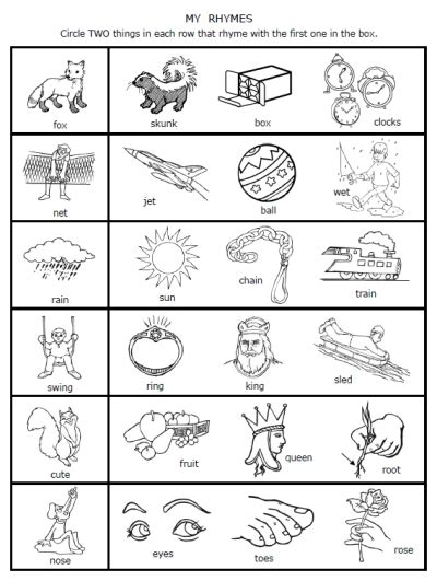 free grade sheets free coloring pages of grade rhyming
