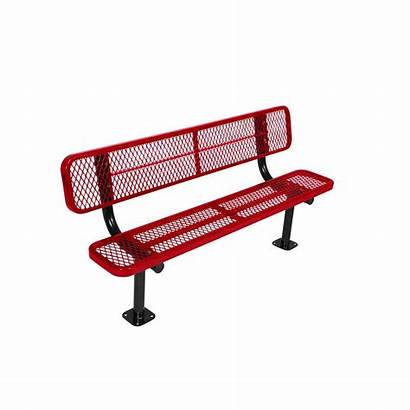 Park Commercial Bench Surface Mount Benches Ft