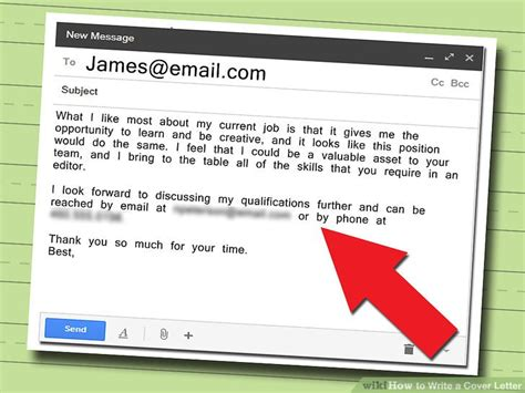 Cover Letter Should Be Attached In The Email by Ideas Collection 5 Ways To Write A Cover Letter Wikihow