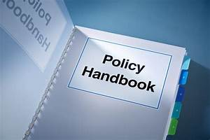 A Corporate Policy Plan Document Manual Book Still Life
