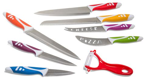 knives for kitchen use professional chef knife set multi use 8pc gift box for