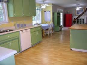 Yellow Retro Kitchen Chairs