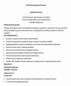 Call Centre Resume Sample Call Center Manager Resume