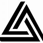 Triangle Triangular Icon Logos Shapes Icons Vector