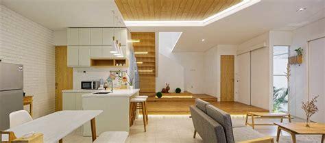 cantiknya desain dapur scandinavian  rumah mewah