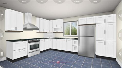 3d kitchen planner plan your kitchen with kitchen planner application