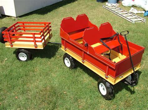 huge kids wagon  matching trailer  sale ttora forum