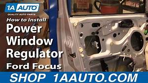 How To Replace Window Regulator 00-07 Ford Focus
