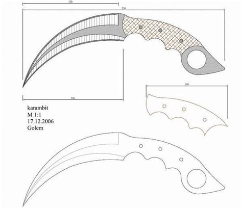 karambit template 1247 best images about blades on cool knives tool steel and edc knife
