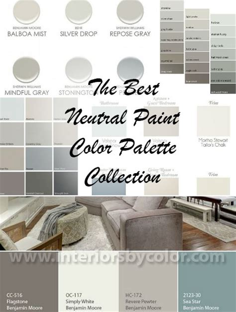 neutral paint colors for the entire house best neutral paint color palettes for your entire house