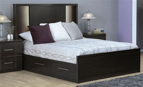 Beds From Bed Store by Seville 7 Storage Bedroom Set Charcoal S