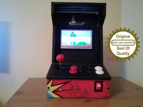 build arcade cabinet cheap cave modder build a cheap arcade cabinet with a
