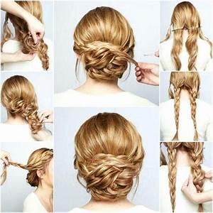 Tuto Coiffure Cheveux Court : tuto coiffure chignon flou ~ Melissatoandfro.com Idées de Décoration