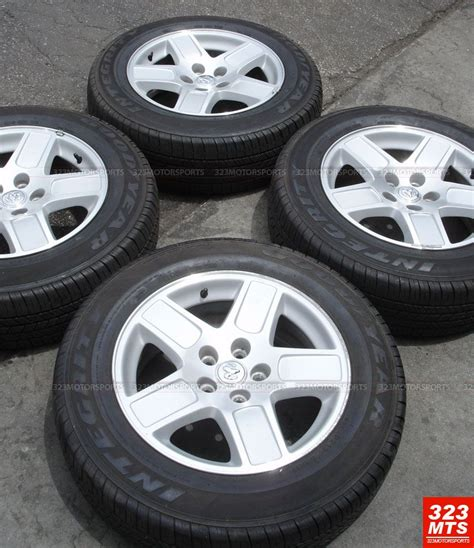 17 Used Rims & Tires Oem Dodge Charger Magnum Rims