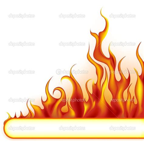 flame clipart border    clipartmag